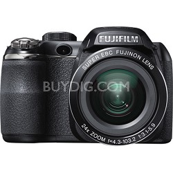 FinePix S4200 24x Optical Zoom 14 MP 3 inch LCD Digital Camera -OPEN BOX