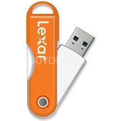 JumpDrive TwistTurn 16 GB High Speed USB Flash Drive (Orange)