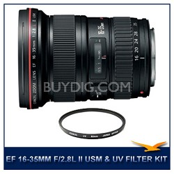 EF 16-35mm f/2.8L II USM,CANON AUTHORIZED USA DEALER WARRANTY INCLUDED