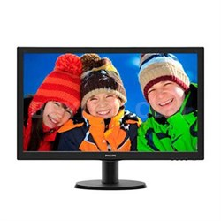 "23.6"" 1080p TFT LCD Monitor with LED Backlit - 243V5LSB"