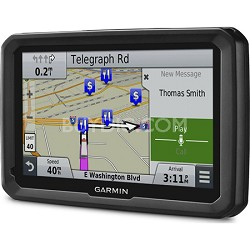 "dezl 770LMTHD 7"" GPS Navigation System with Lifetime Map and Traffic Updates"