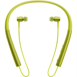 MDR-EX750 h.Ear in Wireless In-ear Bluetooth Headphones w/ NFC - Lime Yellow
