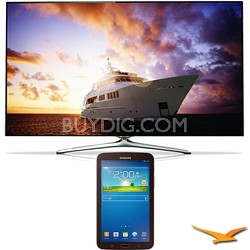 "UN60F7500 - 60"" 1080p 240hz 3D Smart Wifi LED HDTV - 7-Inch Galaxy Tab 3 Bundle"