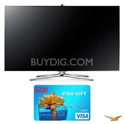 """UN55F7500 55"""" 1080p 240hz 3D Smart WiFi LED HDTV Bundle"""