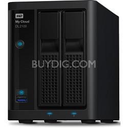 My Cloud Business Series DL2100 Diskless 2-Bay NAS Hard Drive w/ Intel - 0TB