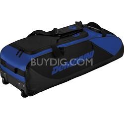 D-Team Wheeled Bat Bag, Royal