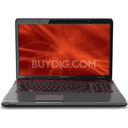 "Qosmio 17.3"" X775-Q7380 Notebook PC - Intel Core i5-2430M Processor"