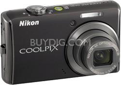 COOLPIX S620 Digital Camera (Jet Black)