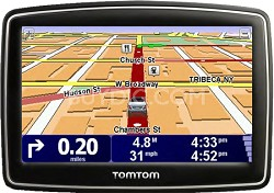 XL 340S Car Navigator GPS w/ Spoken Street Names & Wide Touchscreen