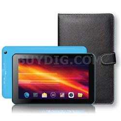"7"" Bluetooth Tablet with Keyboard Case in Blue - SC-5317BLU"