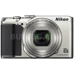 COOLPIX A900 20MP HD Digital Camera w/ 35x Optical Zoom & Built-in WiFi - Silver