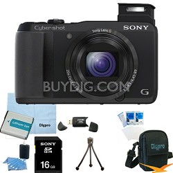 Cyber-shot DSC-HX30V 18.2 MP 20x Optical Zoom Wifi Ultrazoom Camera 16GB Bundle