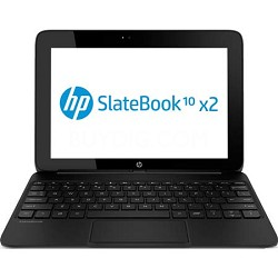 "SlateBook x2 10-h010nr 10.1"" 16GB Detachable Tablet PC - NVIDIA Tegra 4 Proc."