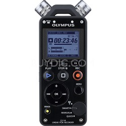 LS-14 Linear PCM Digital Voice Recorder - Factory Refurbished