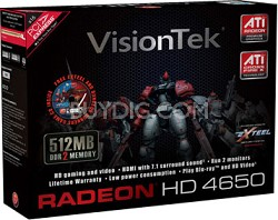 Radeon HD4650 512MB PCIe  Model # 900254