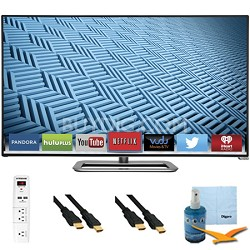 M652i-B - 65-Inch 1080p 240Hz Ultra-Slim LED Smart HDTV Plus Hook-Up Bundle