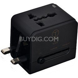 T-Tech Travel Adapter with USB Power