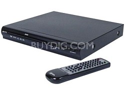D1816 DVD Deck with Remote Control (Black)