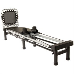 AeroPilates Reformer 266 with Rebounder & Stand, 3-Cord (55-4266)