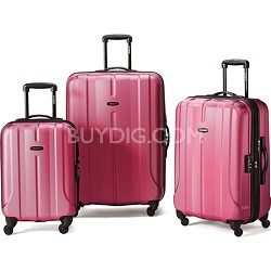 Fiero HS 3 Piece Luggage Nested Set - Purple
