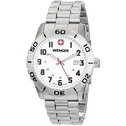Men's 741.102 Grenadier Analog Swiss-Quartz Silver Watch