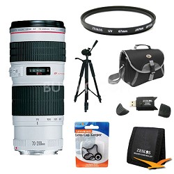 EF 70-200mm F/4.0 L USM Lens Exclusive Pro Kit