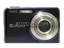"EX-S770 7 MP with 3X Optical Zoom and 2.8"" Super Bright  LCD (Dark Blue)"