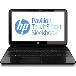 "Pavilion TouchSmart 15.6"" 15-b150us Sleekbook PC - AMD Quad-Core A8-4555M Proc."