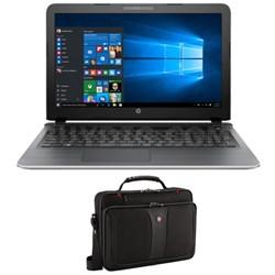 """Pavilion Gaming 15-ak030nr 6th gen Intel Core i5-6200U 15.6"""" w/ Laptop Case"""