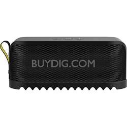 SOLEMATE Bluetooth Portable Speaker - Black - Factory Refurbished