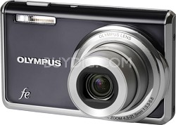 FE-5020 12MP Digital Camera w/ 5x Wide Angle Opt Zoom, 2.7 inch LCD (Dark Grey)