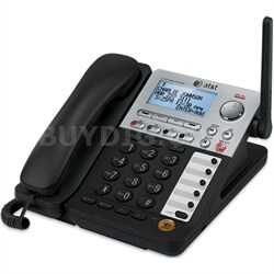 SynJ 4-line Cordless Deskset Component of SynJ Business Phone System - OPEN BOX