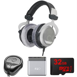 DT 880 Premium Headphones 600 OHM - 491322 w/ FiiO A1 Amp. Bundle