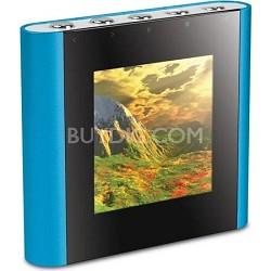 "4 GB Micro Video MP3 Player 1.5"" Screen- Blue"