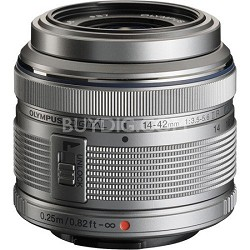 M.14-42MM F3.5-5.6 2R Zuiko Interchangeable Zoom Lens - Silver