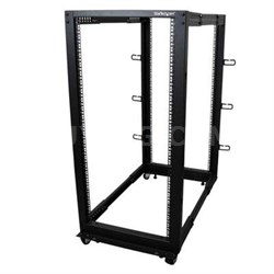25U Adjustable Depth Open Frame 4 Post Server Rack Cabinet - 4POSTRACK25U