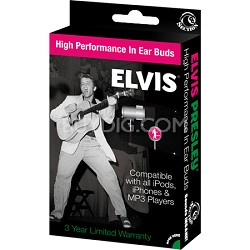 RBW-5673 - Elvis Presley - Early Years In-Ear Buds Window Box