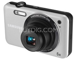 SL605 Durable Anti-Scratch Digital Camera (Silver)