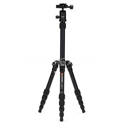 A0350Q0K Backpacker Travel Tripod Kit - Black