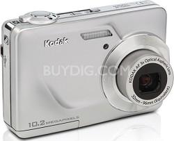 "EasyShare C180 10.2 MP 3x Zoom 2.4"" LCD Digital Camera (Silver)"