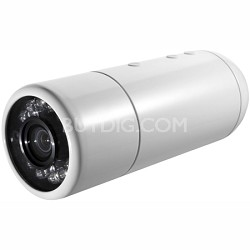 YCBL03 - Bullet Outdoor Wi-Fi/PoE Internet Surveillance Camera - White