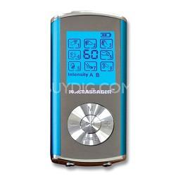 Pro IVS 8 Modes 2-Person Digital TENS Stimulator in Blue