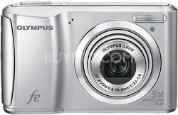 "FE-47 14MP 2.7"" LCD Digital Camera (Silver)"