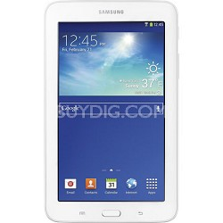 "Galaxy Tab 3 Lite 7.0"" White 8GB Tablet - 1.2 GHz Dual Core Processo - OPEN BOX"