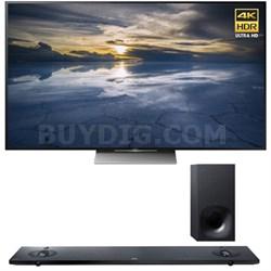 XBR-75X940D 75-Inch 4K UHD TV with Sony HTNT5 Sound Bar