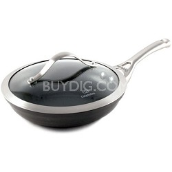 1876965 Contemporary Nonstick Dishwasher Safe Omelette Fry Pan w/ Cover, 8-Inch