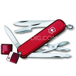 59116 Executive Swiss Army Knife in Ruby Gift Box