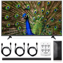 49UF6400 - 49-Inch 120Hz 4K Ultra HD Smart LED TV + LAS751M 4.1 Channel Soundbar