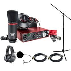 Scarlett 2i2 Studio Pack & Recording Bundle - 2nd Gen w/ Headphone Bundle