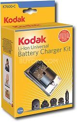 Li-Ion Rapid Battery Charger Kit for Kodak Batteries
